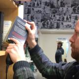 Martin using BookFetch scanner